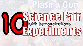 10 Easy Science Fair Project Ideas with Demonstration for K - 12 Grade Students | STEM Festival