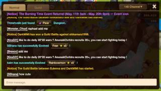 Find secret dungeons without spamming in Summoners War