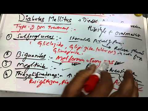 Diabetes Mellitus 6 of 6 (Type 2 treatment)