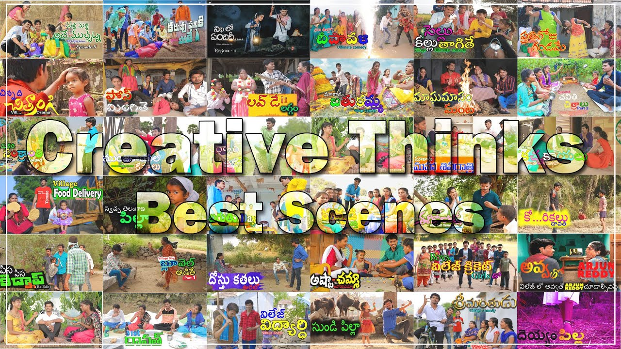 All time best scenes | Top Village comedy | Creative Thinks