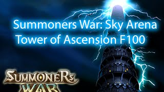 summoners war sky arena tower of ascension f100