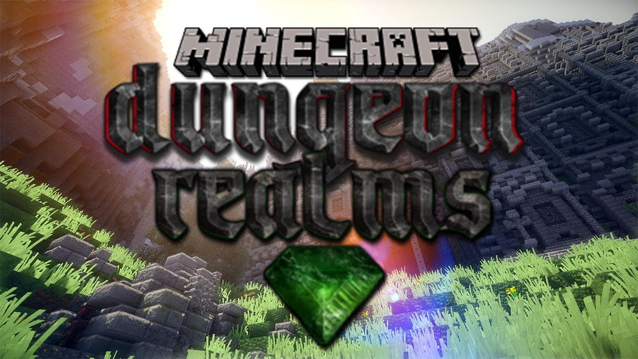 dungeon realms beta minecraft mmorpg server youtube