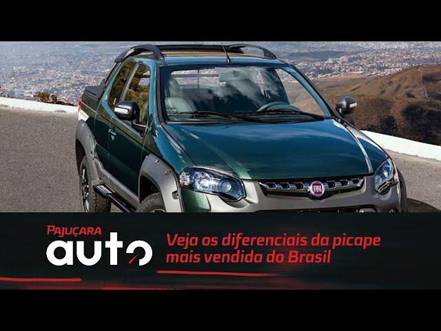 Veja os diferenciais da picape mais vendida do Brasil
