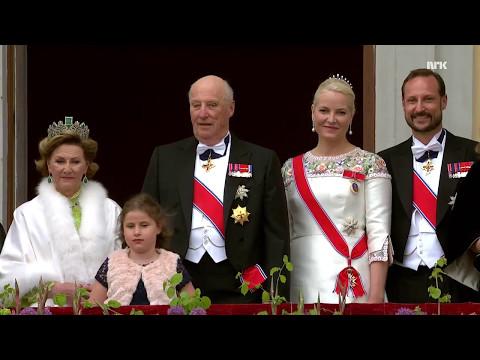 Kongeparet 80 år  | Balcony