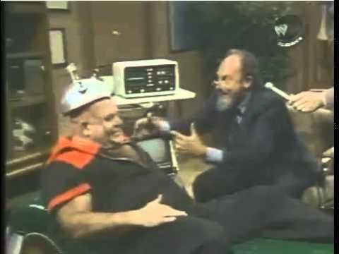 When Shock Treatment cured George The Animal Steele - WWE WWF TNT 1986