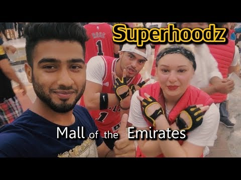 Mall of the Emirates Dubai Vlogs | SuperHoodz Crew Dance Performance