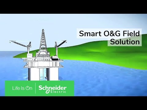 Smart O&G Field Solution by Schneider Electric