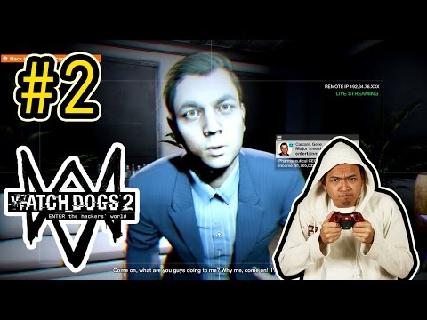 Watch Dogs 2 (2)! - Easter Egg Di Awal! (CEO Pharmacy Beli Lagu Seharga 20 Juta Dollar!)