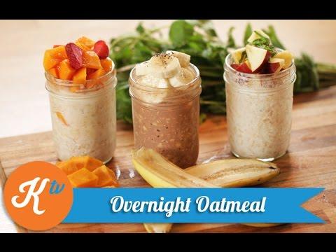 Overnight Oatmeal Recipe Yuda Bustara