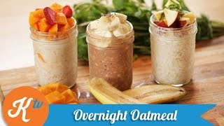 Resep Sarapan Overnight Oatmeal (Overnight Oatmeal Recipe Video) | YUDA BUSTARA