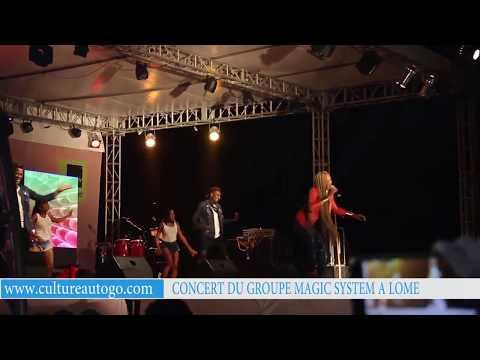 Concert du groupe Magic System à Lomé  (dimanche 18 décembre 2017)