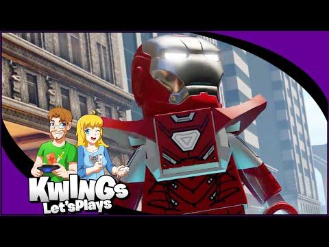 LEGO Marvel Avengers - UNLOCKING Iron Man MK5 & Gold Bricks