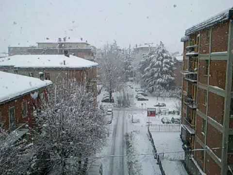 neve marzolina a san lazzaro di savena bologna youtube