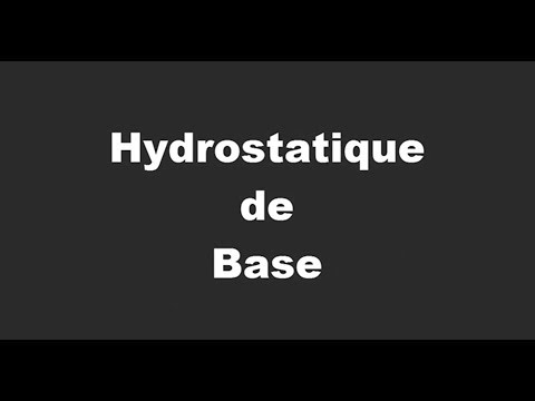 Hydrostatique De Base