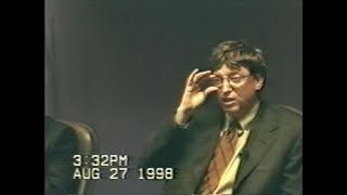 United States v. Microsoft: Deposition by Bill Gates, part 1
