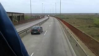 Baixar Cruce Puente Brazo Largo hacia Ruta 12 ó 14 hacia Misiones