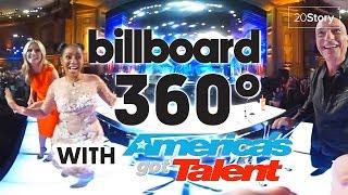America's Got Talent : 360 Video [Exclusive]   Judges Entrance