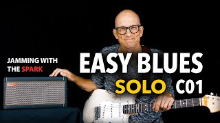 C01 - Easy, Sweet Blues Solo You Can Learn! With the Positive Grid Spark