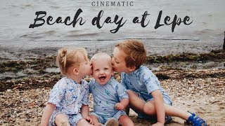 BEACH DAY AT LEPE | CINEMATIC