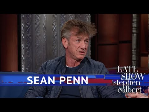 Sean Penn Explains Why His Novel Is A Dystopian