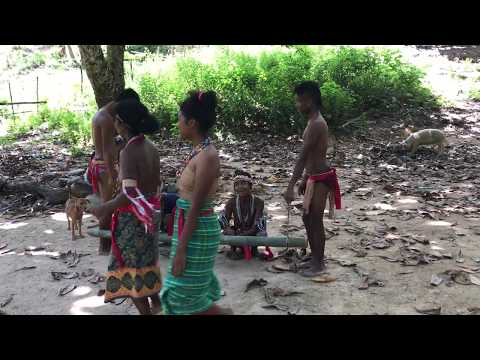 Palawan Batak Tribe Performs Traditional Dancing in Philippines
