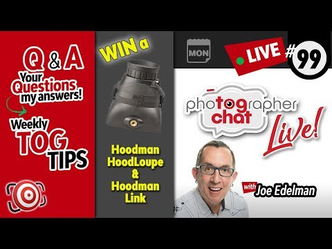 🔴 TogChat™ Live #99 - Photography Podcast and Photography Q&A