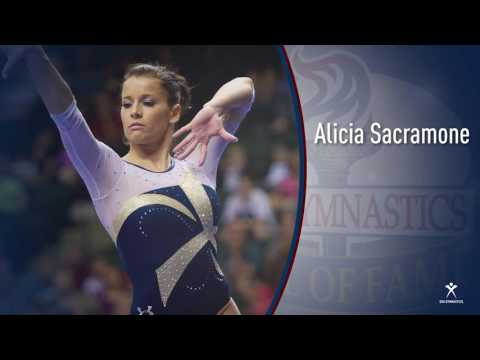 2016 Hall of Fame Ceremony - Alicia Sacramone