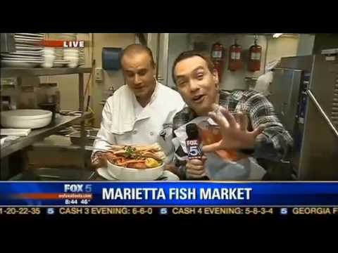 Marietta Fish Market In The Kitchen With Good Day Atlanta