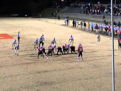 Sam Humble football highlights 2011-2012  Salisbury High School