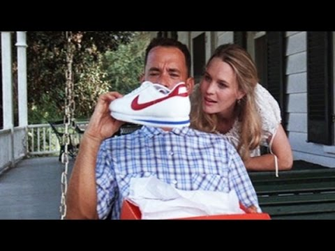 0b2fdf4faba Nike brings back  Forrest Gump  sneakers - YouTube