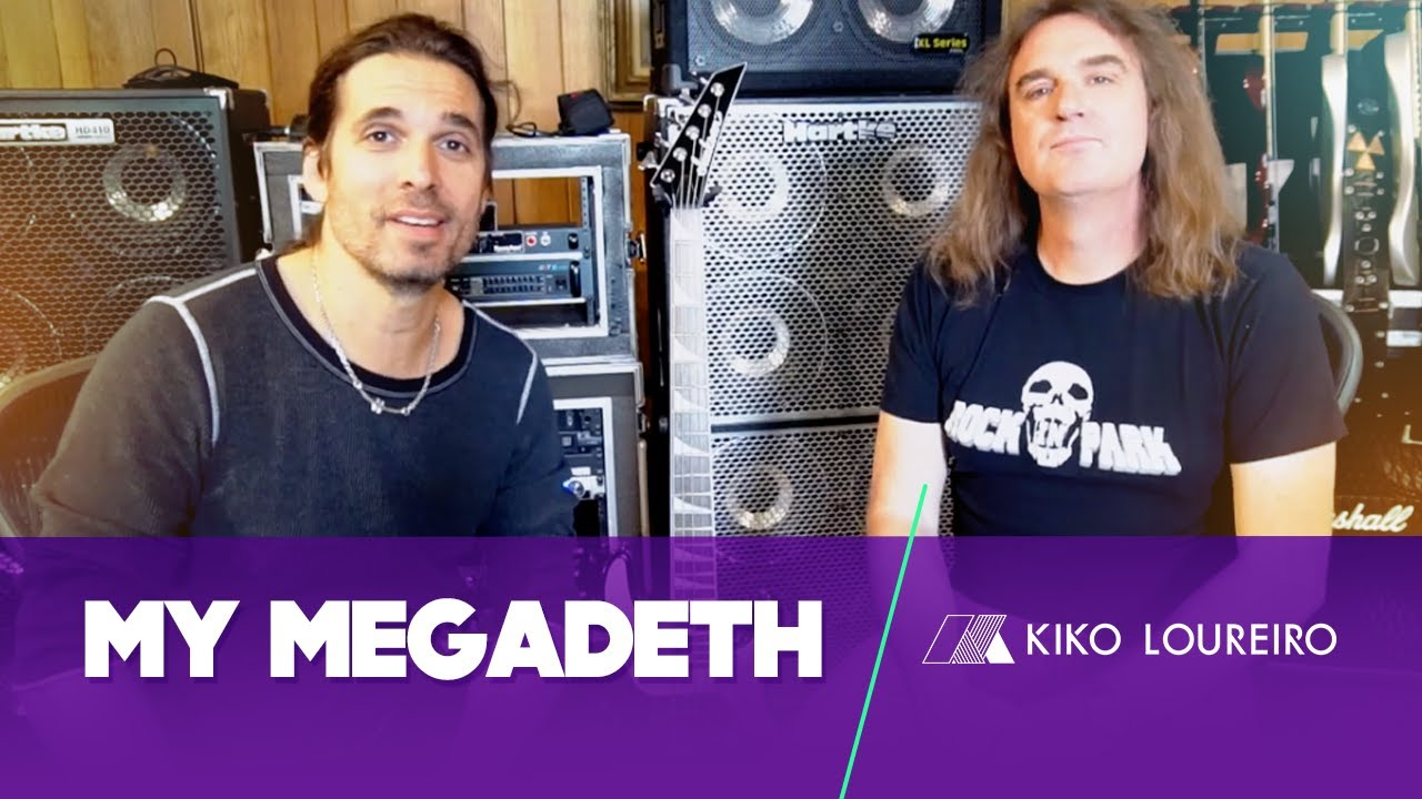 My Megadeth Just Say Yes And Andre Matos With David Ellefson
