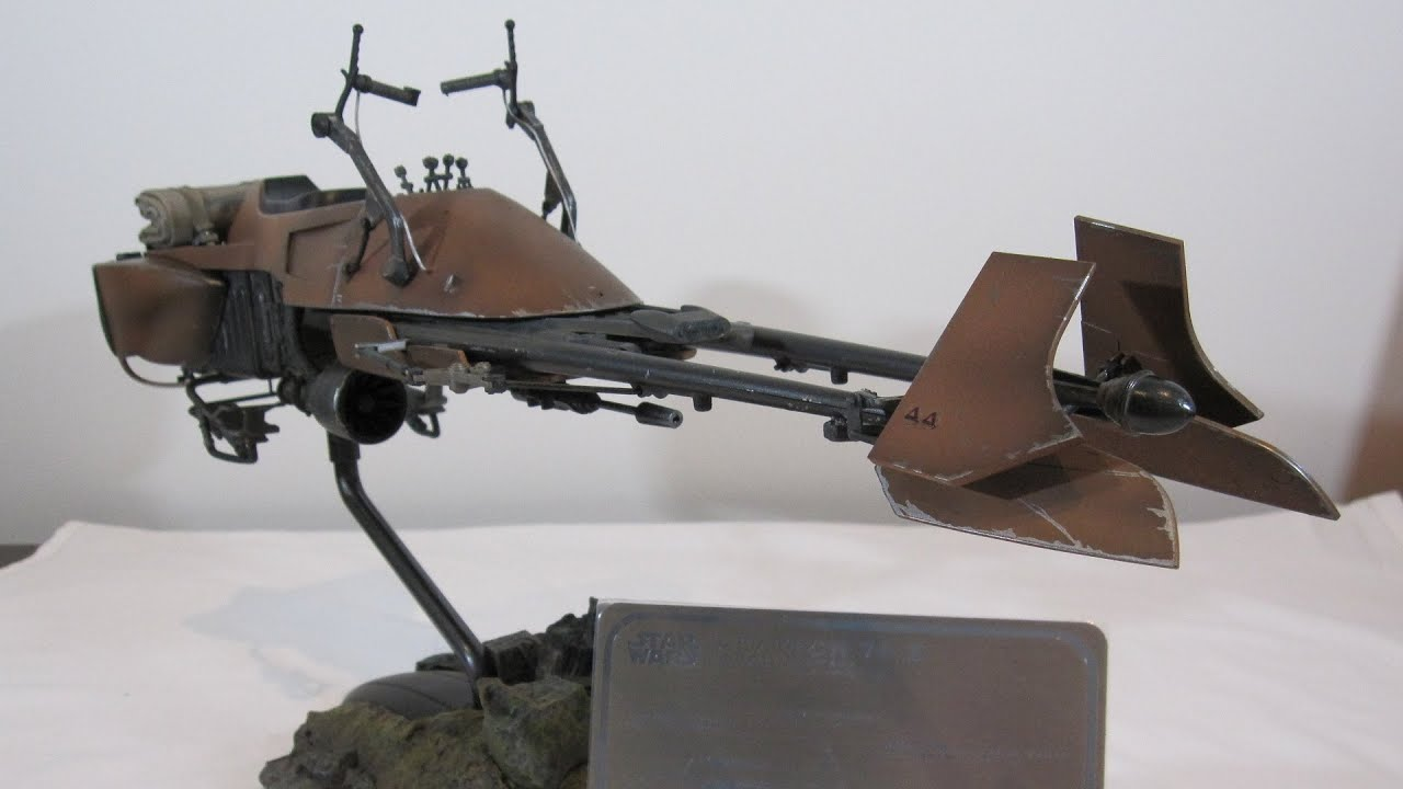 Sideshow Collectibles Speeder Bike Exclusive 1 6th Scale Youtube