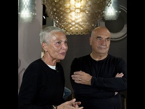 Euroluce 2015 - Doriana and Massimiliano Fuksas interview