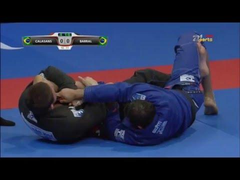 Romulo Barral vs Claudio Calasans World Pro Abu Dhabi 2016