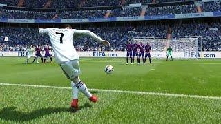 FIFA 15 | Rabona Free Kick Goal!