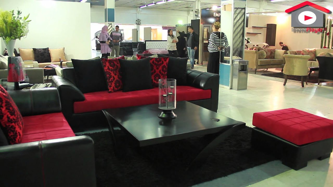 les journ es commerciales du meuble foire de la charguia 1 youtube. Black Bedroom Furniture Sets. Home Design Ideas