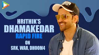 "Hrithik Roshan On DHOOM-4: ""I'd Love To Play Aryan Once More, It'd be INCREDIBLE""