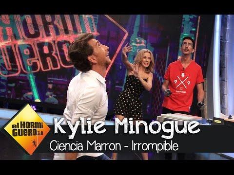 Descubrimos el Line-X con Kylie Minogue en 'El Hormiguero 3.0'