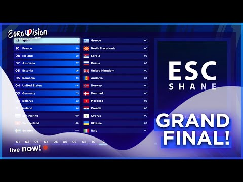 OESC 2020 | Grand Final (Voting Results) Our Eurovision Song Contest 🇫🇷 2020