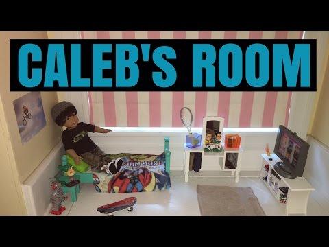 American Girl - BOY DOLL - Caleb's Room
