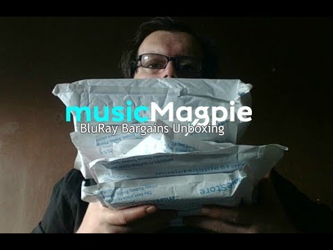 MusicMagpie: BluRay Bargains Unboxing