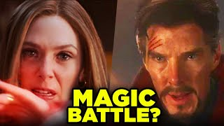 WANDA vs DOCTOR STRANGE? WandaVision Magic Explained! | Big Question