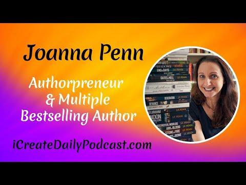 Authorpreneur Joanna Penn - Multiple Bestselling Author