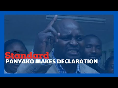Medics' Strike: Seth Panyako makes declarations as KNH medics strike enters second day