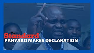 Medics\' Strike: Seth Panyako makes declarations as KNH medics strike enters second day