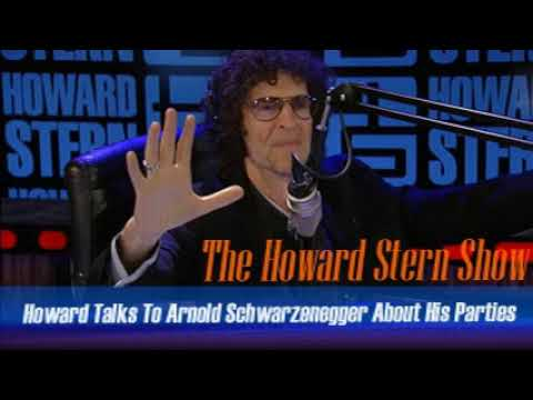Stern Show Clip   Howard Talks To Arnold Schwarzenegger About His Parties