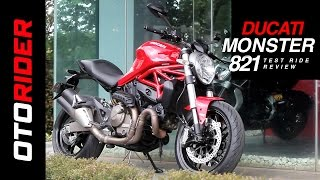 Ducati Monster 821 2017 Test Ride Review - Indonesia   OtoRider