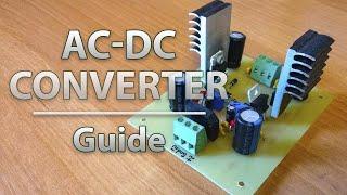 Регулируемый AC-DC преобразователь 1.5-30 В | Adjustable Step-Down Converter 1.5-30 V