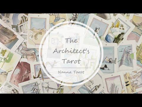 開箱  建築設計塔羅 • The Architect's Tarot // Nanna Tarot