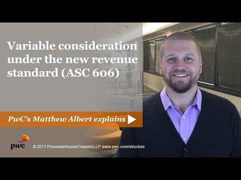 Variable consideration under the new revenue standard (ASC 606) Mp3